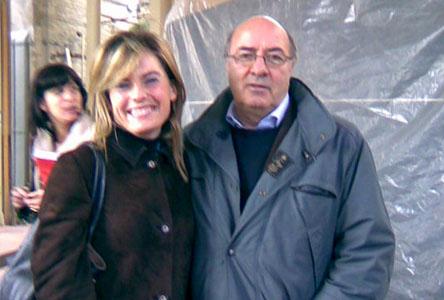 Dante Ferretti in visita allo Sferisterio di Macerata