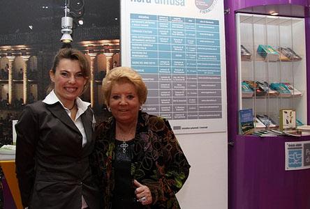 Wilma De Angelis in visita allo stabilimento Varnelli di Pievebovigliana - Provincia di Macerata