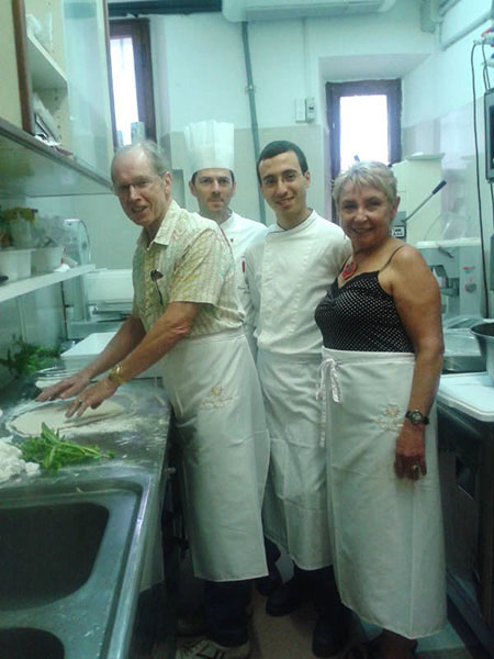 Cooking Class 2014 con Mac and Linda U.S.A. - chef Paolo Antinori